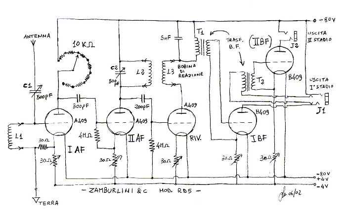 Schema Elettrico Jukebox Seeburg : Schema elettrico radio rd fare di una mosca